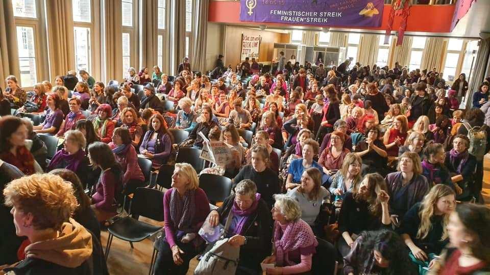 Plus de 500 femmes se sont réunies pour préparer la grève des femmes du 14 juin 2019